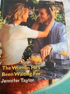 Mills & boon: The woman he's been waiting for