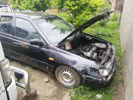Nissan sentra Bubble 1.6 carb stripping