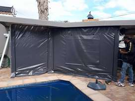 OUTDOOR WEATHER BLINDS