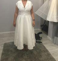 Klasyczna suknia ślubna 40-42