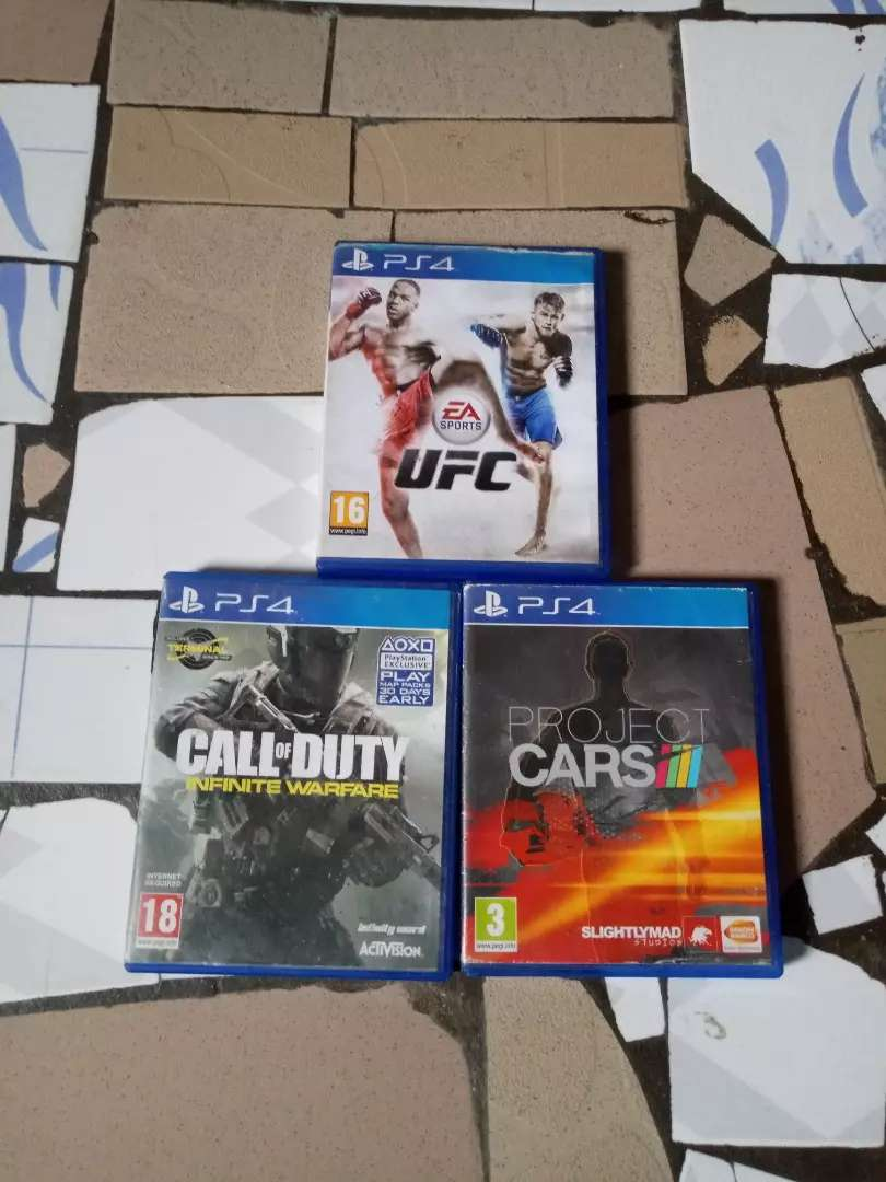 PS4 CD for swap 0