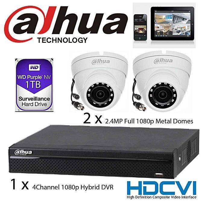 Dahua CCTV, 6 Camera Set- Full Package Kit-High definition 0