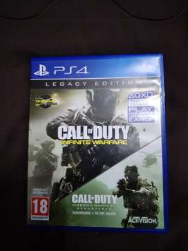 Ps4 call of duty infinate warfare legacy edition
