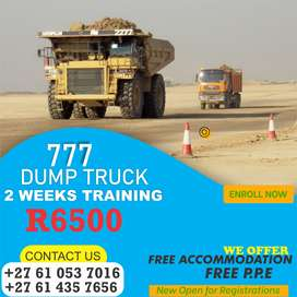 We Train Short Courses in Artisan-Earth Moving Courses Dump Truck