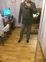 Мужское пальто драповое
