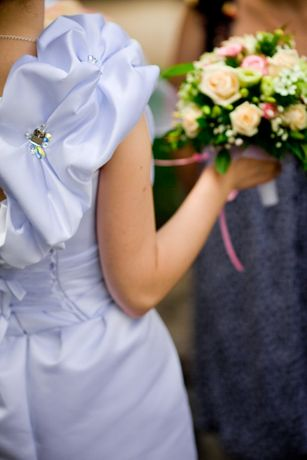 Свадебное платье короткое разм 42-46 Харьков - изображение 2