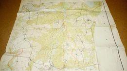 Stare mapy 1;25000 Sławno