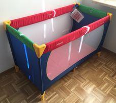 Łóżeczko turystyczne firmy Hauck 120 x 60 cm