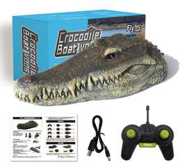Electric RC Boat Simulation Croc Head RTR Model Toy