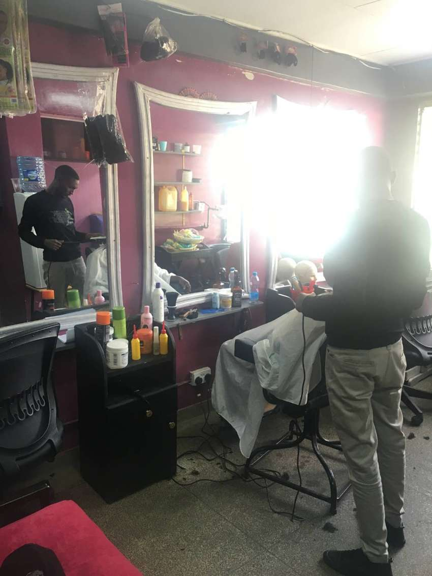 SALOONIST  REQUIRED IN SALON LOCATED INSIDE JKUAT CAMPUS 0