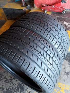 295/35/21 CONTINENTAL CROSSCONTACT UHP TYRES×2