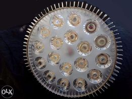 Лампа для растений и аквариума 18 светодиодов (фитолампа 54w)