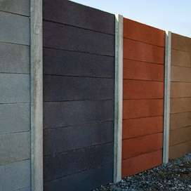Concrete Walling and paving
