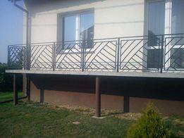 Wykonam balustradę wg wzoru klienta, balustrada krata, ogrodzenie itp.