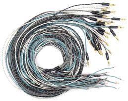 Провод для наушников Koss Porta Pro Sony AKG JVC аудио кабель нейлон