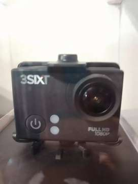 3Sixt Full HD sports action camera with wifi