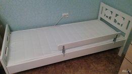 ИКЕА, Каркас детской кровати , белый, 70x160