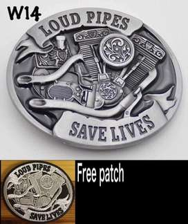 Month end special . Metal buckle with free patch