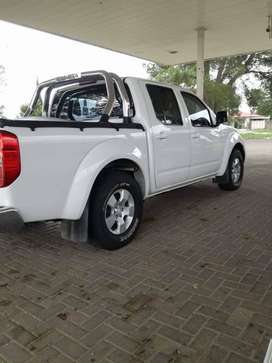 It is a nissan navara 2014,it has 4 years six month