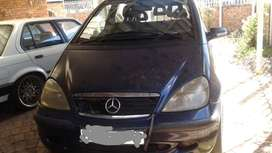 2003 A160 mercedes benz for sale