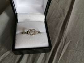 White gold ring for sale