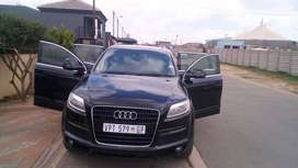 Audi Q7 model 2007 start and go nothing to fix