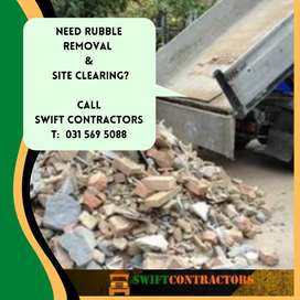 Rubble Removals and Site Clearing in Durban surroundings