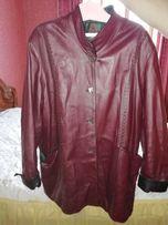 Продам кожаную куртку 62р.