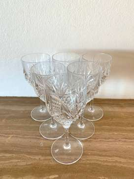 Luxury Detailed Crystal Sherry Glasses