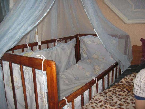 Комплект в детскую кроватку , держатель в подарок Ахтырка - изображение 7