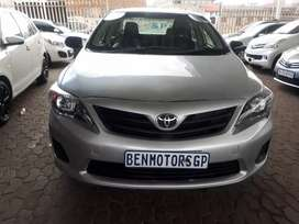 For Sale:2014 Toyota  Corolla Quest Engine 1.6,8000km