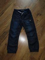 Spodnie jeansowe z polarem Smyk roz. 128 j.NOWE