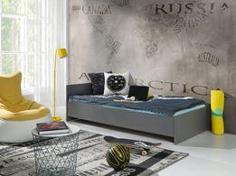 Łóżko młodzieżowe nowe kompletne z materacem 3 kolory