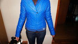 Кожаная курточка для девушки на рост 160-170см.