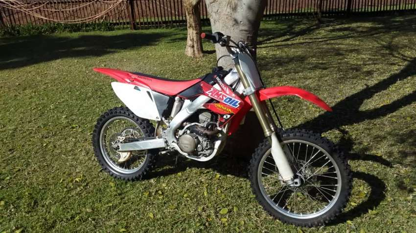 Honda CRF 250 R twin pipe 0