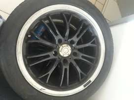 Tyres and rims for BMW