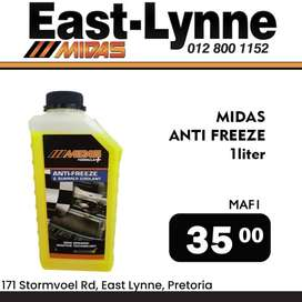 Midas Anti-Freeze ONLY R35!