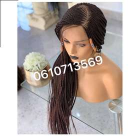 LACEFRONT BRAIDED CORNROW WIG