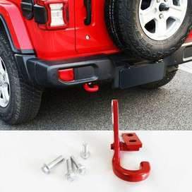Jeep JK Body Style Rear LEFT Tow Hook – Stainless