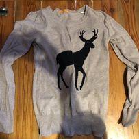 Sweter jeleń rozmiar s