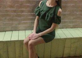Платье! Нарядное платье. Платье с рюшами.