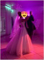 Эксклюзивное свадебное платье очень хороший торг