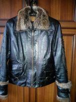 Куртка женская кожа утепленная