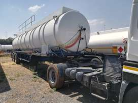 Tri axle fuel tankers