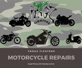 Frogz Fighters Motorcycle Repairs and services