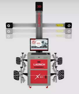 3D wheel alignment and tyre fitment