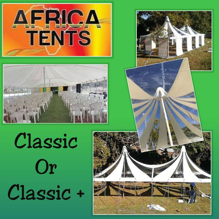 Heavy Duty Classic or Classic PLUS Tents on Sale!! 0