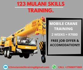 LEARN HOW TO OPERATE A MOBILE CRANE WITH US IN 14 DAYS
