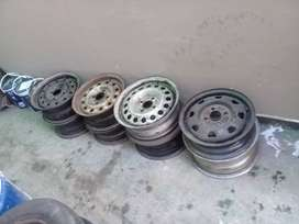 """Steel rims 13""""and 14"""""""