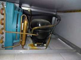 Refilling gas fridges and freezers